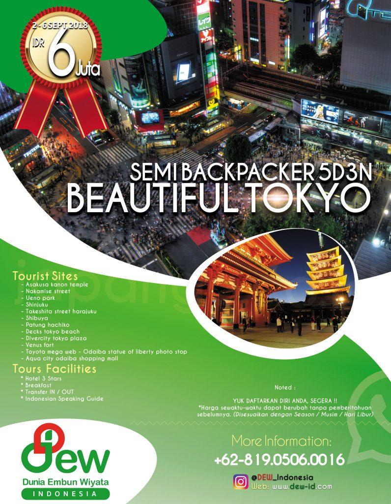 Paket Hemat Tour ke Jepang