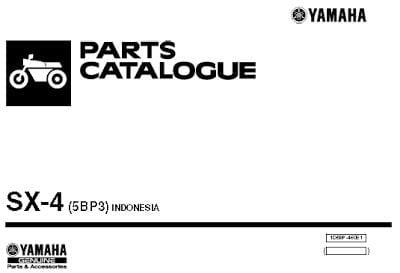 Catalog Spare Part Yamaha Scorpio 5 (1)