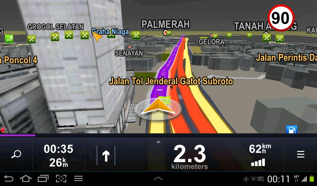 GPS Navigation Mobil Free Terbaik