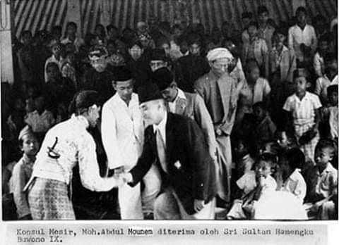 Sri Sultan HB IX Menerima M. Abdul Muin(Sumber: internet)