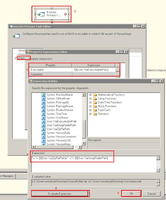 SSIS – Cara Unzip File .Zip Dalam SSIS [Cara Menggunakan Execute Process Task Dalam SSIS] 5 (2)