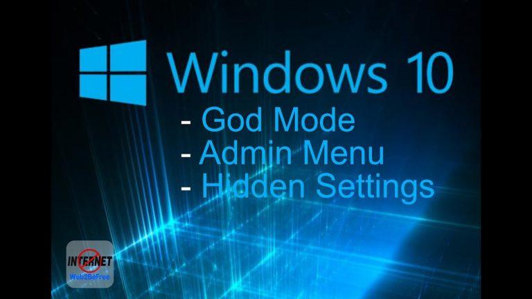 Cara mengaktifkan semua Mode Dewa rahasia Windows 10 5 (2)