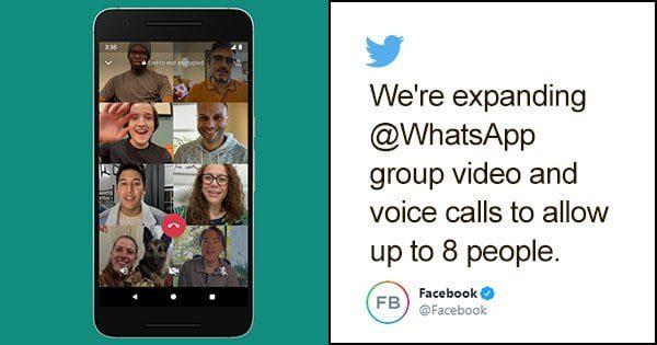WhatsApp Bisa Video Call 8 Orang Sekaligus 0 (0)